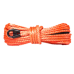 "3/8"" Orange Winch Rope - 20,000 lb. Breaking Strength 